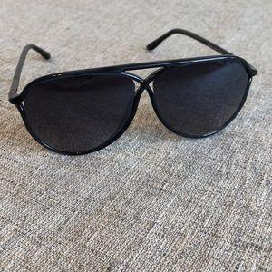 Tom Ford Maximillion Aviator Sunglasses